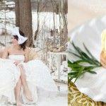 Foto: Îngheţata cu tarhon-vedetă la nunțile de iarnă 2014-2015!