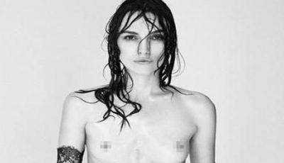 Keira Knightley este împotriva photoshop-ului! A pozat nud în semn de protest