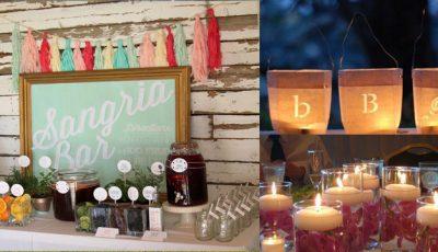 Decorațiuni de nuntă pe care le poți face singură