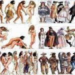 Foto: Evoluția omului de-a lungul timpului