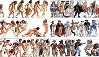 Evoluția omului de-a lungul timpului
