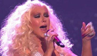 Cât a slăbit Christina Aguilera după naștere!