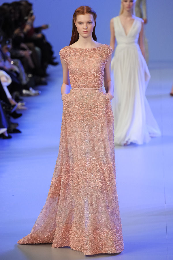 Pixelformula Elie Saab Womenswear Summer 2014 Haute Couture  Paris France