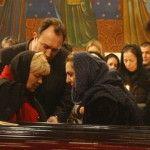 Foto: Sute de oameni își iau rămas bun de la Constantin Tănase