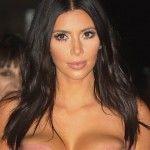Foto: Kim Kardashian, într-o rochie invizibilă la distanță!