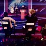 "Foto: Voronin, Ghimpu, Usatîi și Dodon au cântat la show-ul ""Golos"""