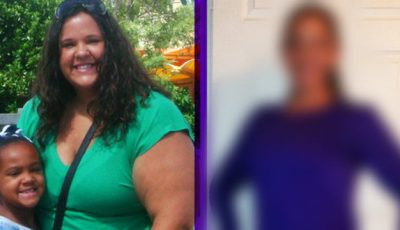 A slăbit 77 de kilograme fără diete