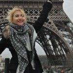 Foto: Alla Vengher știe pe unde trebuie să ajungi dacă mergi în Paris