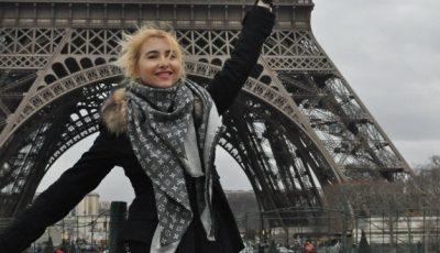 Alla Vengher știe pe unde trebuie să ajungi dacă mergi în Paris