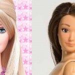 A apărut păpuşa Barbie cu vergeturi, coşuri şi celulită!