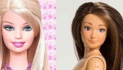 A apărut păpuşa Barbie cu vergeturi, coşuri şi celulită. Copiii o adoră!