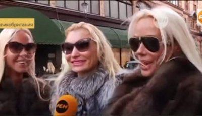 Shopping la Londra cu soțiile oligarhilor ruși!
