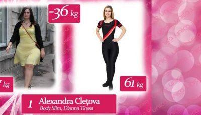 Alexandra Clețova: Am pariat cu prietena că voi arăta mai bine la nunta  ei