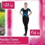 """Foto: Natalia Ciurea: """"Dietele drastice nu au dat rezultate, de aceea am venit la Unica Sport"""""""