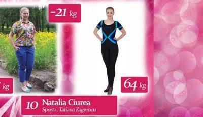 """Natalia Ciurea: """"Dietele drastice nu au dat rezultate, de aceea am venit la Unica Sport"""""""