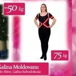 Foto: Galina Moldovanu a ajuns să cântărească 125 de kg, după două accidente rutiere