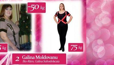 Galina Moldovanu a ajuns să cântărească 125 de kg, după două accidente rutiere