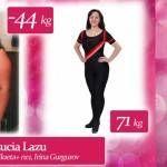 """Foto: Lucia Lazu: """"Așa suntem noi, mai grăsuți, spuneam atunci când aveam 115 kg"""""""