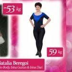 Foto: Natalia Beregoi: Am slăbit 53 de kg ca să arăt bine la Balul de Absolvire al fiicei!