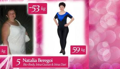 Natalia Beregoi: Am slăbit 53 de kg ca să arăt bine la Balul de Absolvire al fiicei!