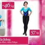 """Foto: Ala Jidraş: """"De la 103 kg am ajuns să cântăresc 57! """""""