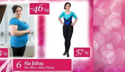 """Ala Jidraş: """"De la 103 kg am ajuns să cântăresc 57! """""""