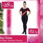 """Foto: Nina Toma:"""" Prietenele îmi arătau poze cu mine pe când eram cu 40 de kg mai slabă!"""