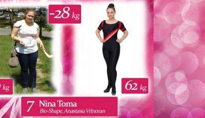 """Nina Toma:"""" Prietenele îmi arătau poze cu mine pe când eram cu 40 de kg mai slabă!"""