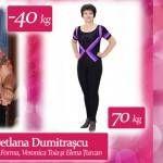 """Foto: Svetlana Dumitrașcu: """" Soțul mi-a cumpărat mașină, dar cu 140 de kg nu încăpeam la volan"""""""