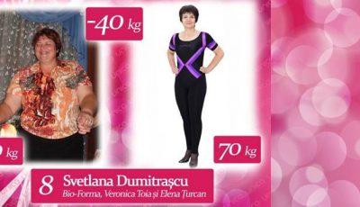 """Svetlana Dumitrașcu: """" Soțul mi-a cumpărat mașină, dar cu 140 de kg nu încăpeam la volan"""""""