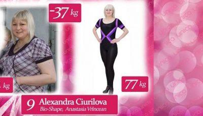 Alexandra Ciurilova: La 23 de ani cântărea 114 kilograme
