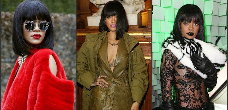 Foto: Pentru ce culori ale buzelor a optat Rihanna în acest an
