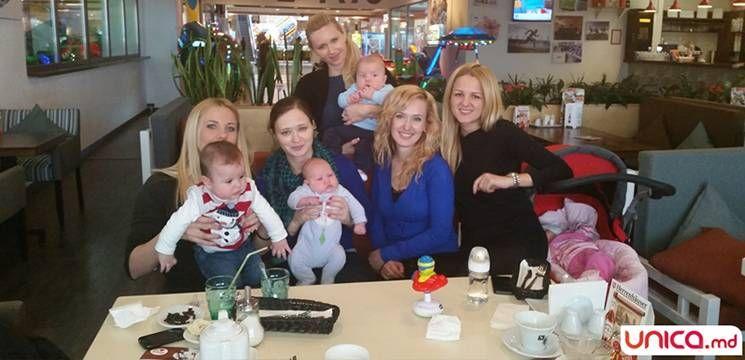 Foto: Cuconada fostelor graviduţe de la Unica Sport