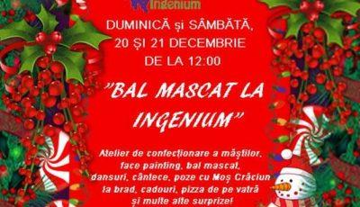 Ingenium organizează o petrecere magică de Crăciun pentru copii!