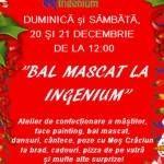Foto: Ingenium organizează o petrecere magică de Crăciun pentru copii!