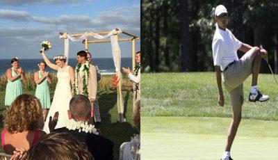 Obama le-a stricat nunta!