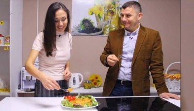 Sergiu Beznițchi stârnește poftele! Gătește pârjoale de post!