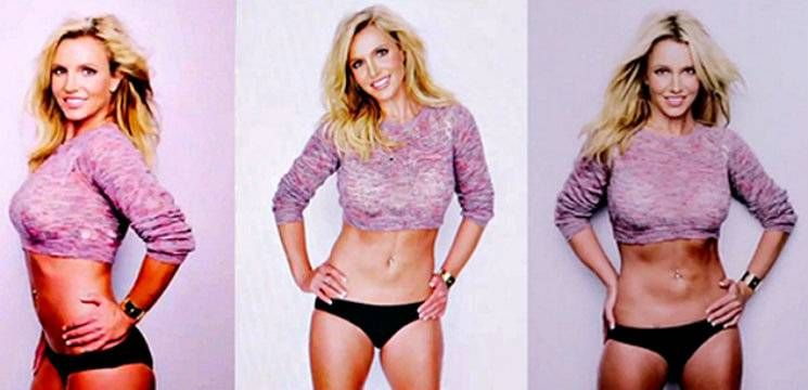 Foto: Exerciții de vedetă. Cum a reușit Britney Spears să slăbească!
