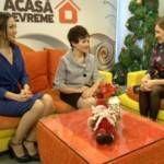 """Foto: Miss Unica Sport, în vizită la """"Acasă Devreme"""""""