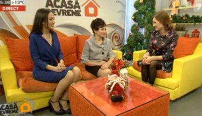 """Miss Unica Sport, în vizită la """"Acasă Devreme"""""""
