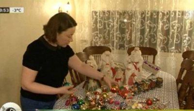Ludmila Andronic colecționează jucării pentru brad din anii '60!