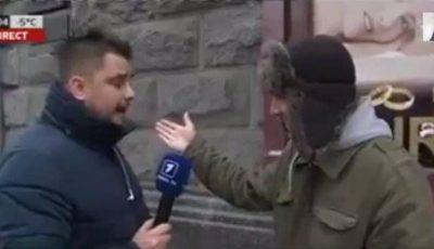 Anatol Melnic, pălmuit de 5 bărbați necunoscuți în plină stradă