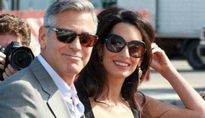 Amal vorbește despre problemele din dormitor cu George Clooney!