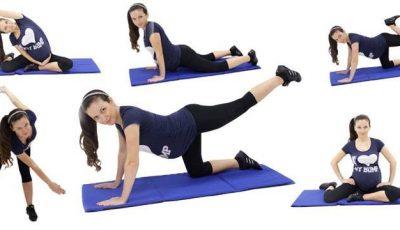 Exerciții pentru fortificarea mușchilor în timpul sarcinii!