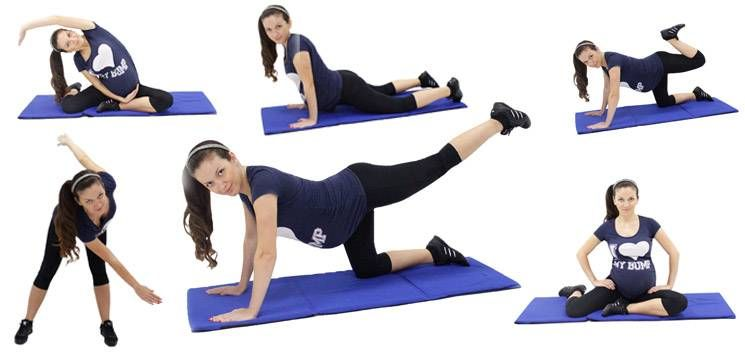 Foto: Exerciții pentru fortificarea mușchilor în timpul sarcinii!