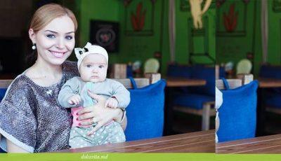 Cea mai mică Crăciuniţă! Poze cu fiica Corneliei şi a lui Marcel Ştefăneţ