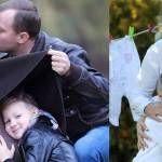 Foto: Aurel Chirtoacă a devenit tată pentru a doua oară