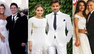 Nunțile anului 2014. Ce ținute au purtat vedetele!