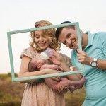Foto: Fiica Corneliei şi a lui Marcel Ştefăneţ a împlinit şase luni