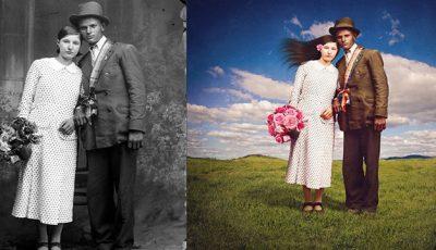 Fotografii vechi realizate de un român, reinventate de un străin!